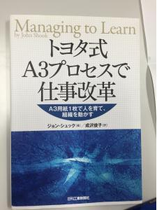"Japanese copy of ""Managing to Learn"""
