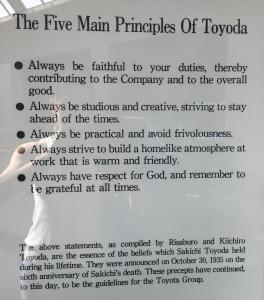 The Five Main Principles of Toyoda
