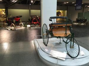 The Toyota Automobile Museum houses an impressive selection of cars from the beginning of automotive history to current day. This is one of the very first vehicles developed in the late 1800s.