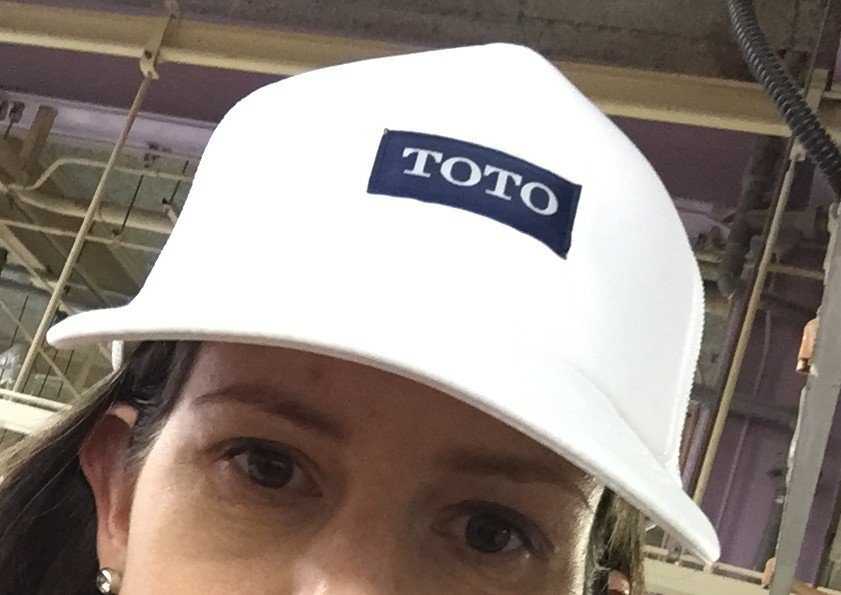 Touring TOTO in Japan.