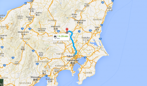 It takes roughly 90 minutes to drive from Tokyo to Ashikaga. We'll travel by private tour-bus.