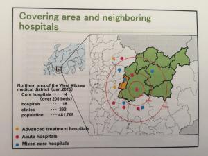 Toyota Memorial Hospital geographic coverage.