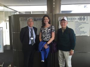 Takehiro Sumiya, Isao Yoshino, and Katie Anderson