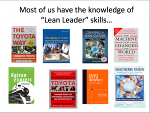 Knowledge and skills are important
