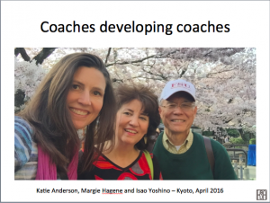 Isao Yoshino taught John Shook, John Shook taught Margie Hagene, and Margie Hagene taught me