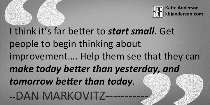 Dan Markovitz Quote 4