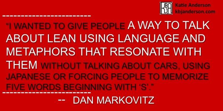 Dan Markovitz Quote 3