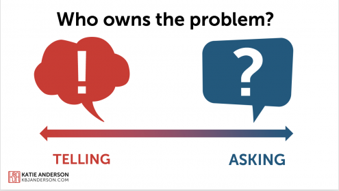 who owns the problem | pay attention to questions in disguise