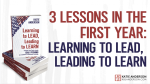 3 Lessons Learned in the first year
