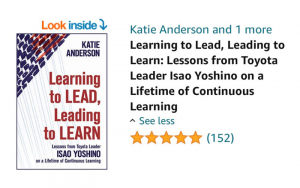Learning to lead leading to learn book Amazon review