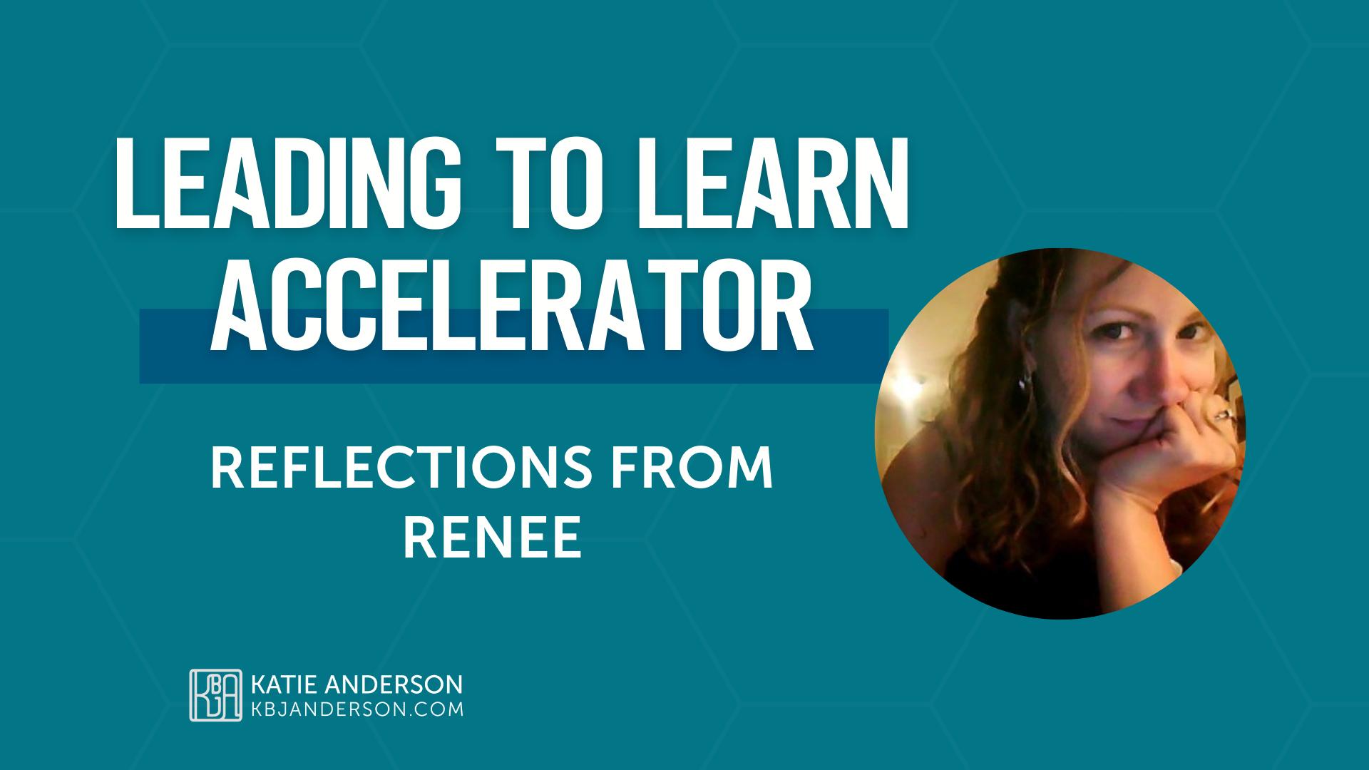 Accelerator Testimonial Renee
